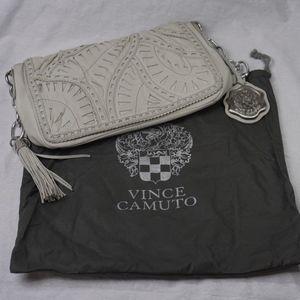 Vince Camuto, Soft Leather, Tassel Shoulder Bag